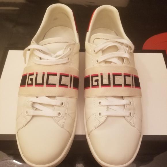 Gucci Shoes   Gucci Stripe Leather